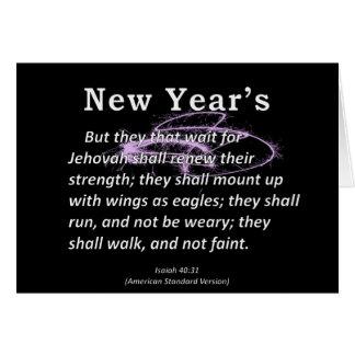 Der Jesaja des neuen Jahres 40-31 Karte