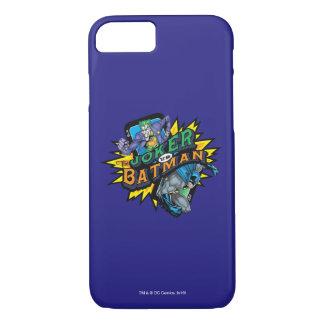 Der Joker gegen Batman iPhone 8/7 Hülle