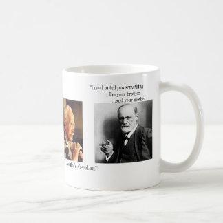 Der Jung und das rastlose - besonders angefertigt Kaffeetasse