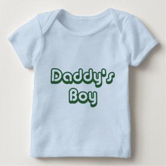 Der Junge des Vatis Baby T-Shirt