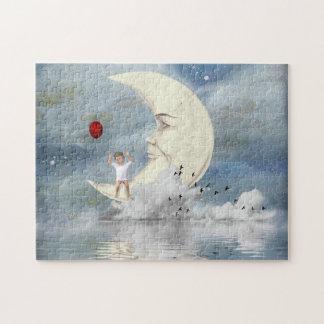 Der Junge im Mond Puzzle