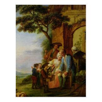 Der Junge von Wirsing und von seinem Murmeltier, Postkarte