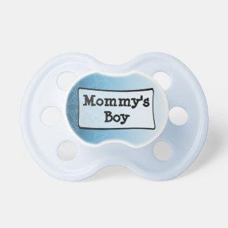 Der Jungen-Baby-Schnuller der blauen u. weißen Schnuller
