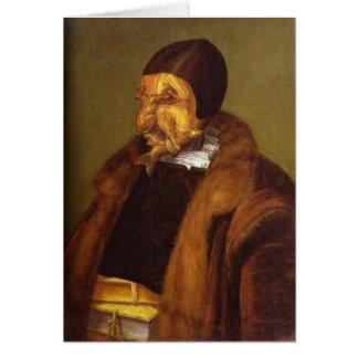 Der Jurist 1566 Grußkarte