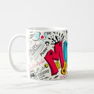 Der Kaffee-Tasse des Musik-Liebhabers Kaffeetasse