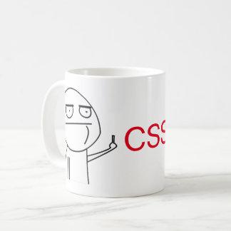 Der Kaffee-Tasse mittlerer Finger Kaffeetasse