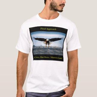 Der kahle Adler-Shirt der Endanflug-Männer T-Shirt