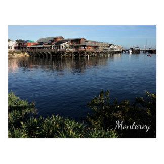 Der Kai des Fischers, Postkarte Monterey,