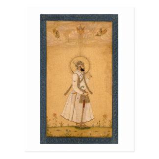 Der Kaiser Farrukhsiyar (1683-1719) vom Larg Postkarte