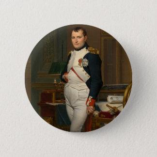 Der Kaiser Napoleon in seiner Studie beim Runder Button 5,7 Cm