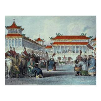 Der Kaiser Teaon-Kwang, das seins wiederholt, Postkarte