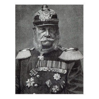 """Der Kaiser Wilhelm, """"von der Freizeit-Stunde"""", Postkarte"""