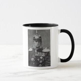 """Der Kaiser Wilhelm, """"von der Freizeit-Stunde"""", Tasse"""
