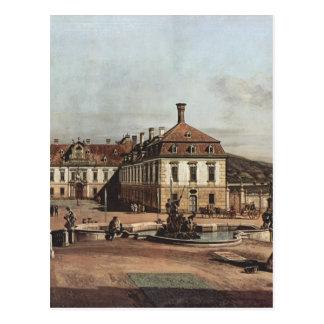 Der Kaisersommerwohnsitz, Hof durch Bernar Postkarte