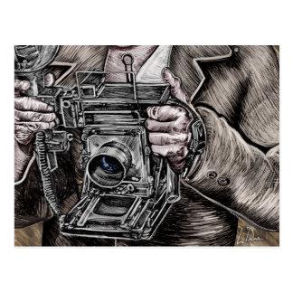 Der Kamera-König Postkarte