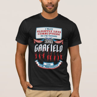 Der Kampagnen-Frauen James Garfield 1880 das T-Shirt