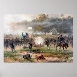 Der Kampf von Antietam -- Ziviler Krieg Plakate