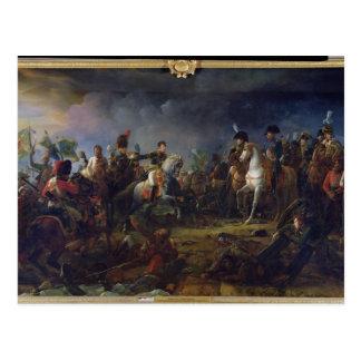 Der Kampf von Austerlitz Postkarte