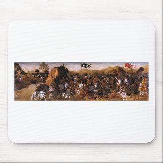 Der Kampf von Pydna durch Andrea del Verrocchio Mousepad