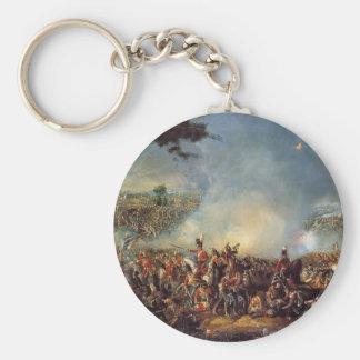 Der Kampf von Waterloo Standard Runder Schlüsselanhänger