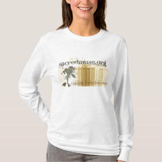 Der Kapuzenpulli heiliger Muse-Frauen T-Shirt