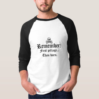 Der Kardinals-Regel des Piraten T-Shirt