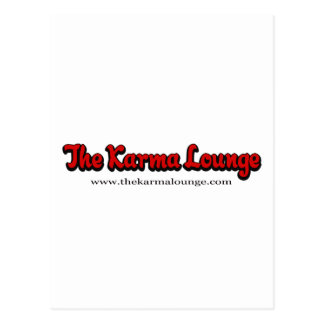 Der Karma-Aufenthaltsraum Postkarte