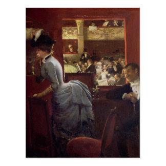 Der Kasten durch die Ställe, c.1883 Postkarte
