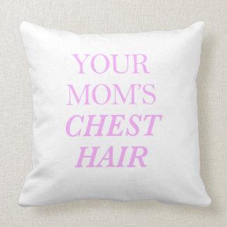 Der Kasten-Haar-Druck Ihrer Mammas Kissen