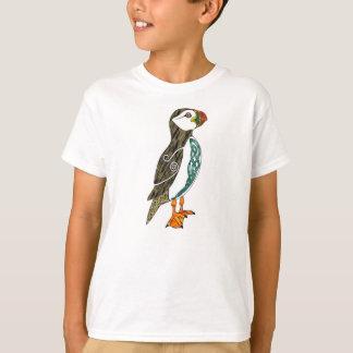 Der keltische Papageientaucher des Kindes T-Shirt