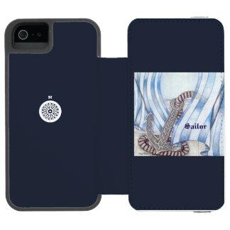 Der keltische See Anker wählen Hintergrund-Farbe Incipio Watson™ iPhone 5 Geldbörsen Hülle