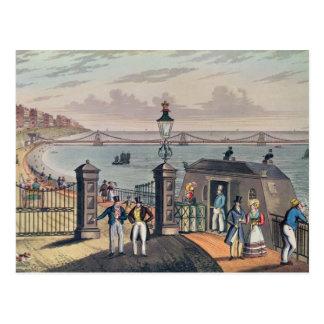 Der Kettenpier auf der Front in Brighton Postkarte
