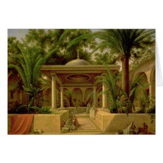 Der Khabanija Brunnen, Kairo, 1845 Karte