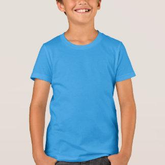 Der Kinder die Poly-Baumwolle Änderungsfarbe der T-Shirt