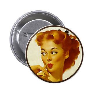 Der Kitsch BItsch: Button-Oben Porträts Runder Button 5,1 Cm