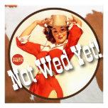 Der Kitsch Bitsch: Cowgirl nicht Mittwoch schon! Personalisierte Einladungen