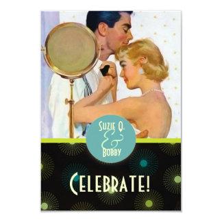 Der Kitsch Bitsch: Feier 8,9 X 12,7 Cm Einladungskarte