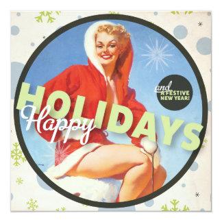 Der Kitsch Bitsch: Frohe Feiertage Gruß-Karte Karte
