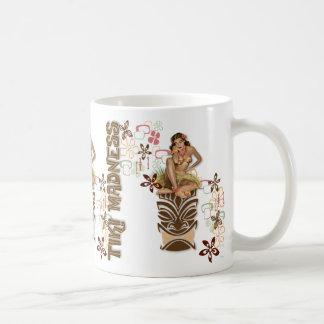 Der Kitsch BItsch: Hula Hüften! Kaffeetasse