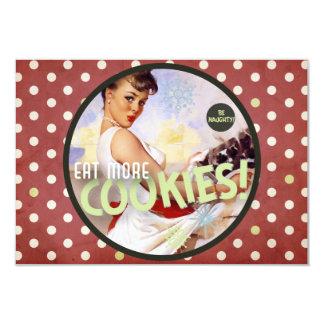 Der Kitsch Bitsch: Seien Sie frech! Essen Sie mehr 8,9 X 12,7 Cm Einladungskarte