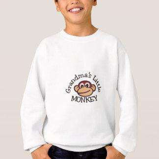 Der kleine Affe der Großmutter Sweatshirt