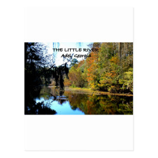 Der KLEINE FLUSS - Adel, Georgia Postkarte