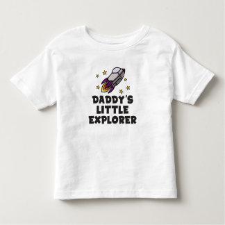 Der kleine Forscher des Vatis Kleinkind T-shirt