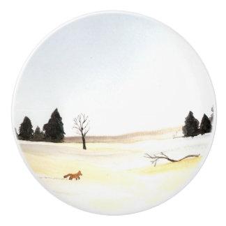 Der kleine Fox Keramikknauf