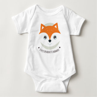 Der kleine Fuchs seiner Mamas Baby Strampler