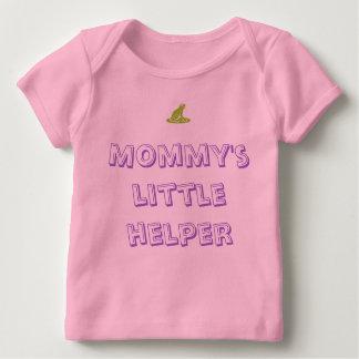 Der kleine Helfer der Mama Baby T-Shirt