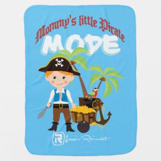 Der kleine Pirat der Mama Babydecke