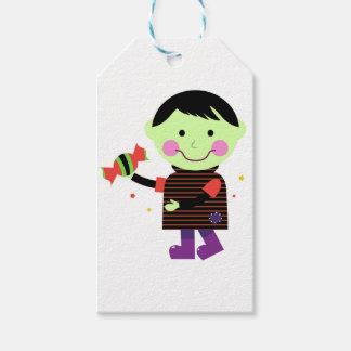 Der kleine Zombie mit süßem Zucker Geschenkanhänger