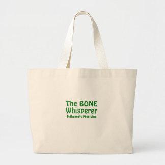 Der Knochenwhisperer-orthopädische Arzt Jumbo Stoffbeutel