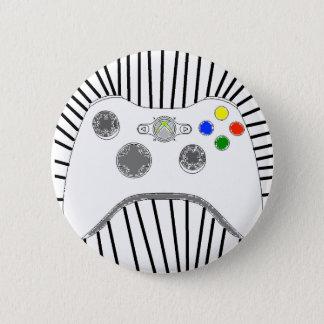 Der Knopf des Xboxgamers Runder Button 5,7 Cm